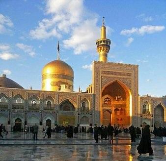 Shrine of Imam Reza (PBUH) in Mashhad, Iran