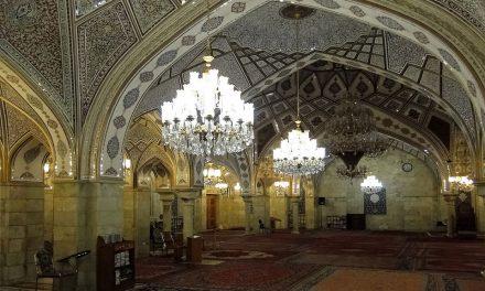 Sayyidah Ruqayya Mosque in Damascus, Syria