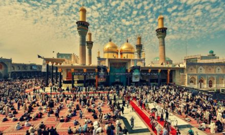 The holy shrine of Imam al-Kazim (AS) and Imam al-Jawad (AS)