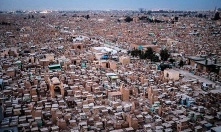 Iraq's Wadi as Salam cemetery