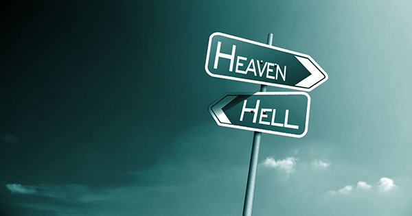 Why are God, hell and heaven and angels hidden from human eye?