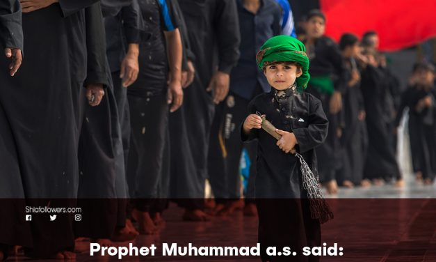 The Prophet's Speech About Crying For Imam Hussain(a.s)