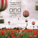 The Doer Of Good And The Doer Of Evil