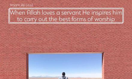 How Does Allah Show His Love To Servant?